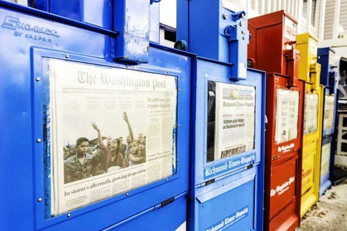 新聞販売店 コロナ 影響